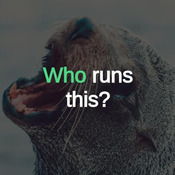 Who Runs This