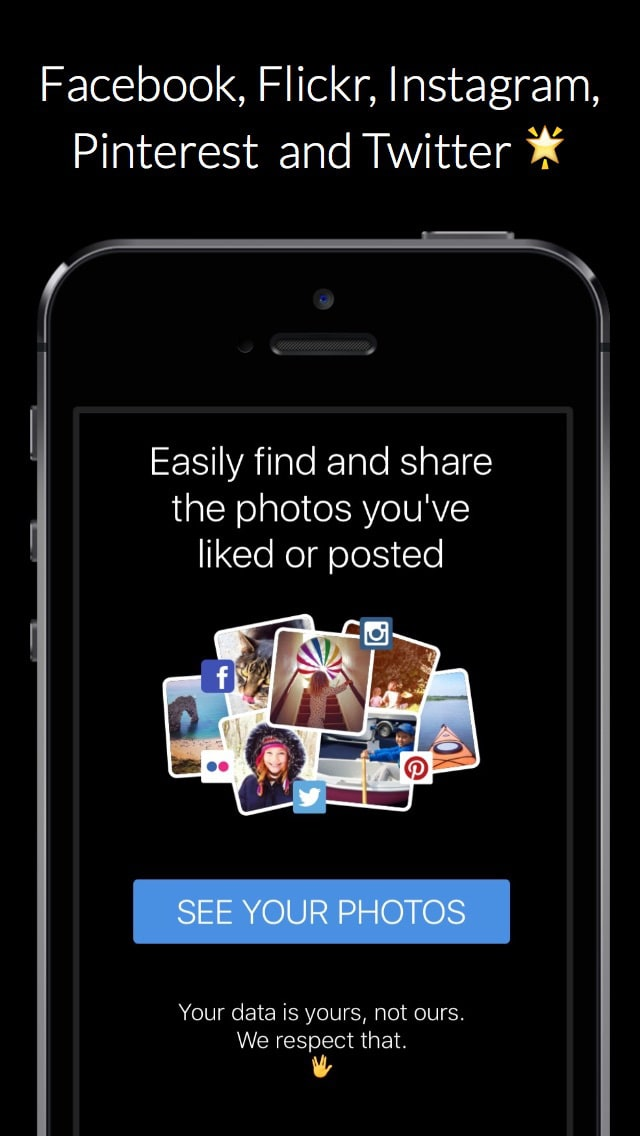 Digi.me - the ultimate photo search for Instagram, Facebook, Flickr, Pinterest & Twitter