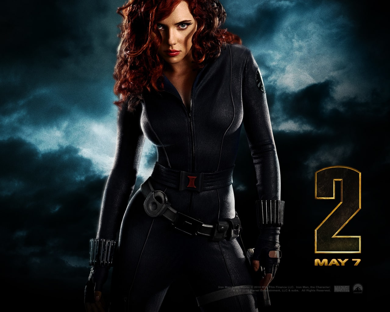 Iron Man 2 Wallpaper: Black Widow