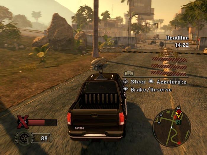 Mercenaries 2: L'enfer des favelas