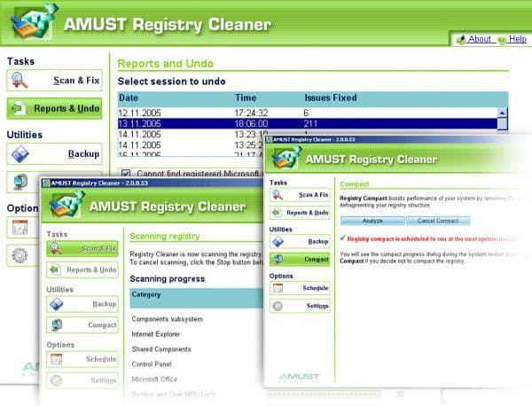 AMUST Registry Cleaner