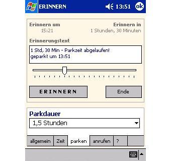 PDA Erinnerer