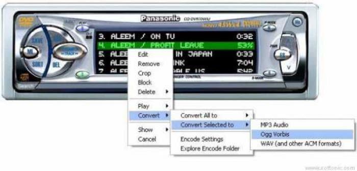Quintessential Ogg Vorbis Encoder Plugin