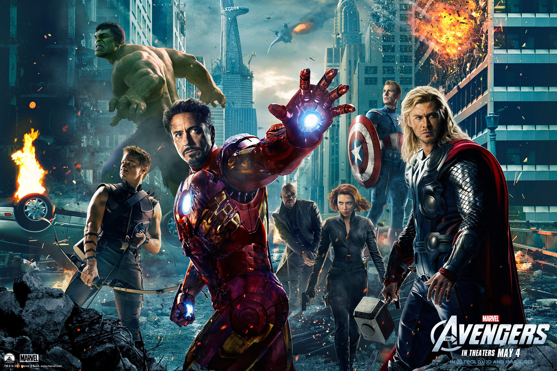 Marvel's The Avengers Wallpapers