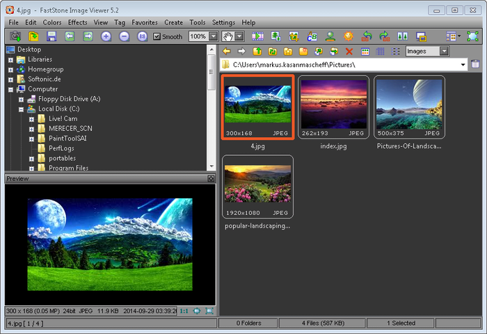 FastStone Image Viewer Portable
