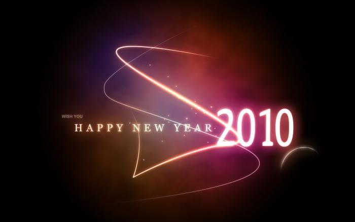 Happy New Year 2010 Wallpaper