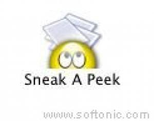 Sneak A Peak