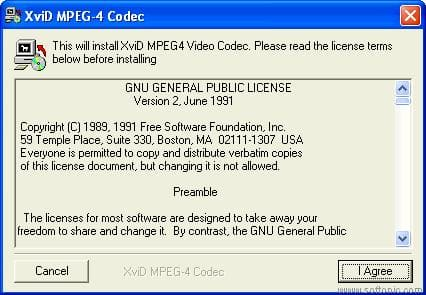 Nic's XviD MPEG-4 Codec
