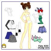 Palm Kiss Doll