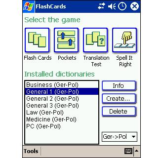 LingvoSoft FlashCards Deutsch/Polnisch