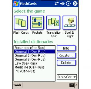 LingvoSoft FlashCards Deutsch/Russisch