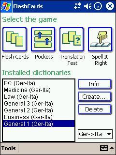LingvoSoft FlashCards Deutsch/Italienisch