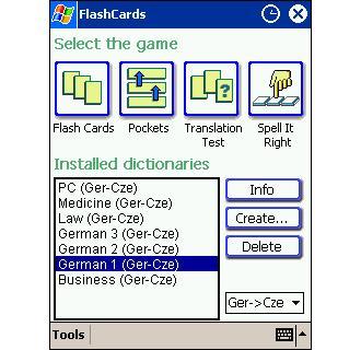 LingvoSoft FlashCards Deutsch/Tschechisch