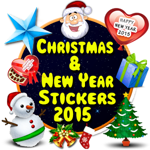 Christmas & New Year Stickers 2.1 y versiones superiores