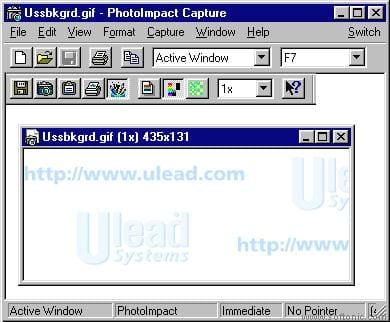 Ulead PhotoImpact Screen Capture