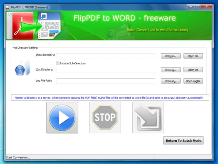 Flip PDF to Word