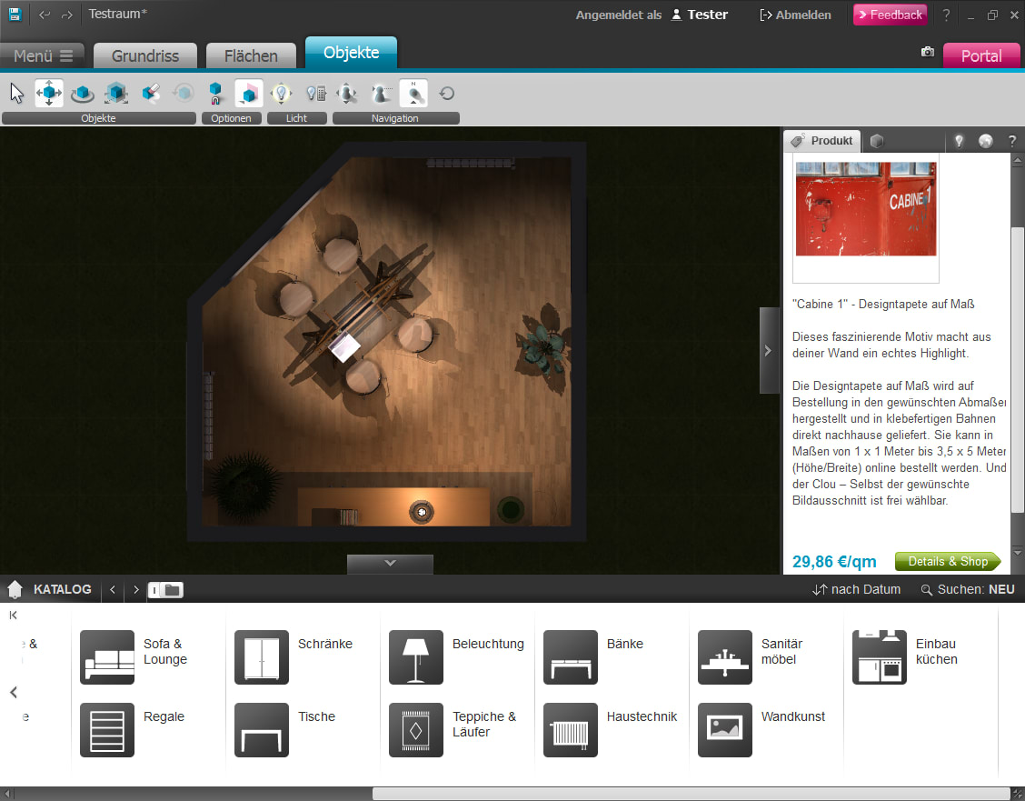 Roomeon 3d planer win download for 3d planer wohnzimmer