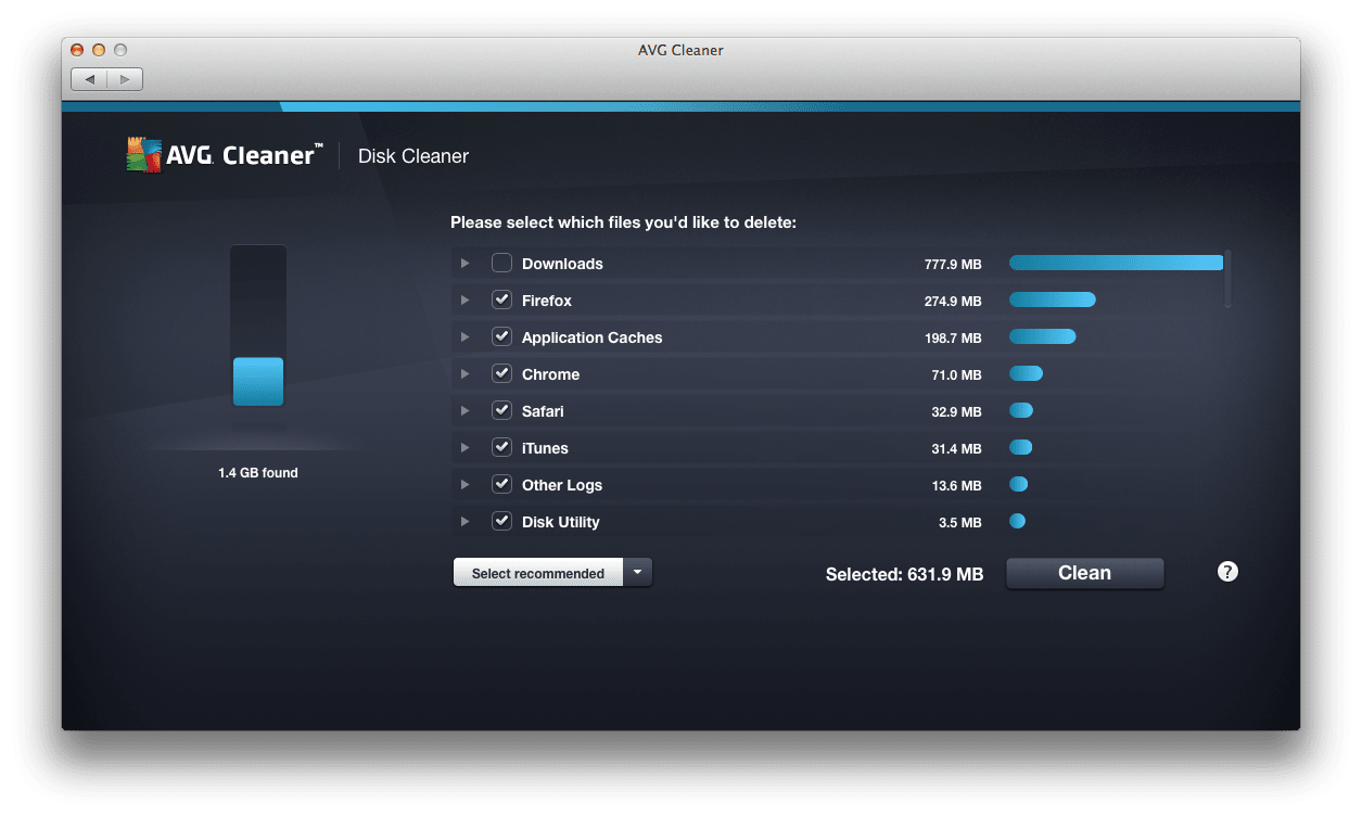 Avg Cleaner For Mac Download