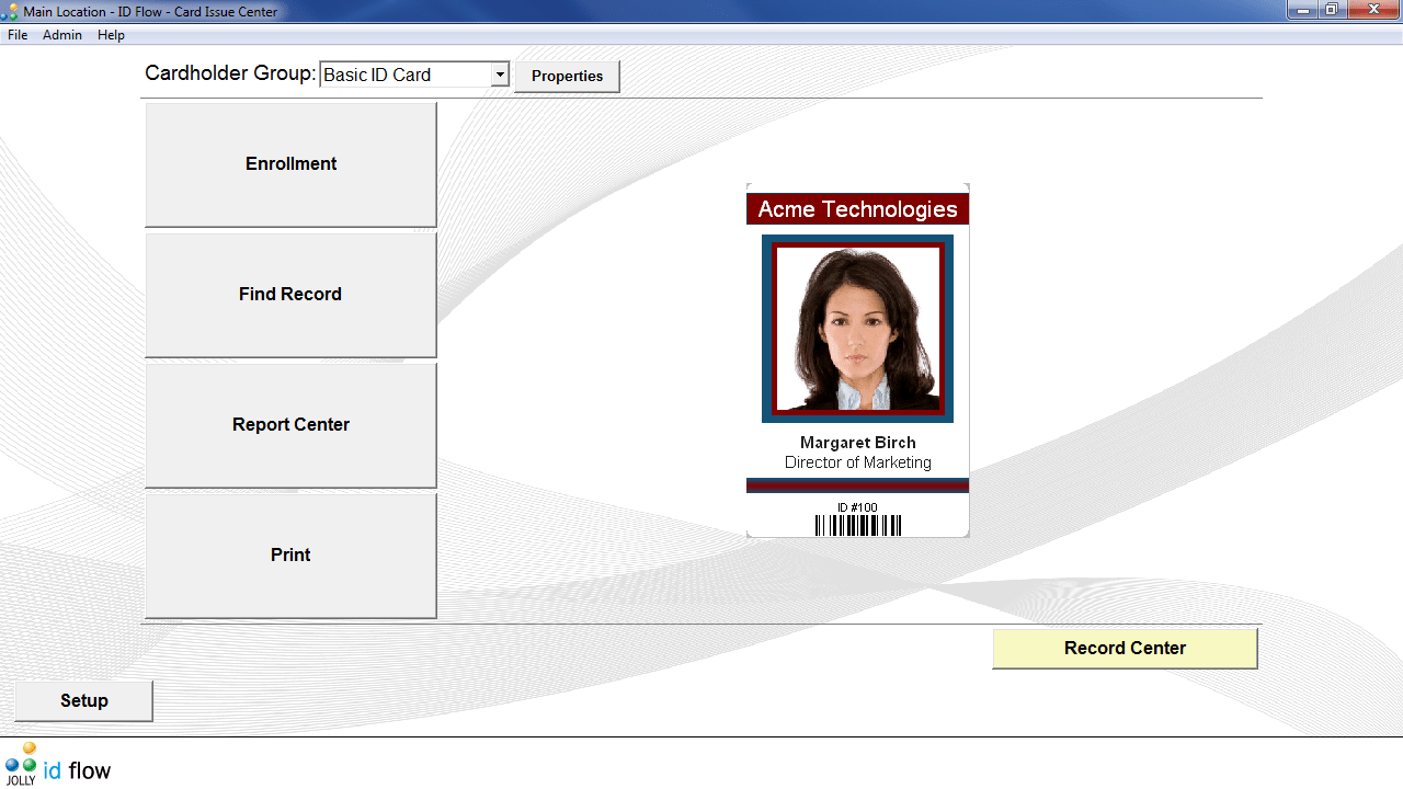 ID Flow Free ID Card Software