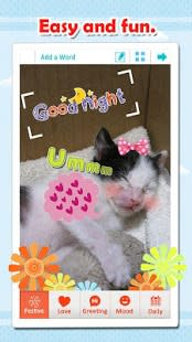 WordArt Photo Sticker