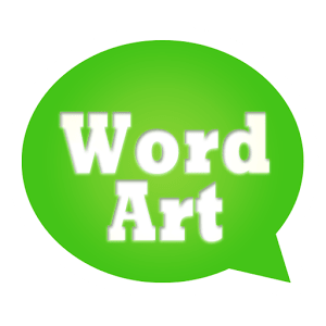 WordArt Chat Sticker W