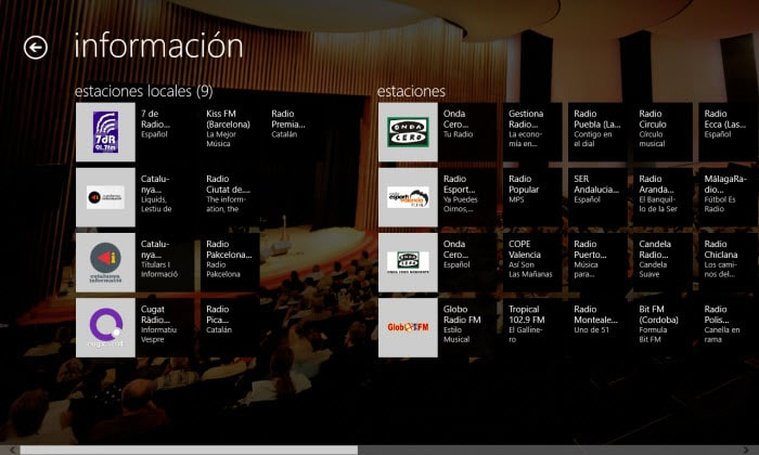 TuneIn Radio para Windows 10
