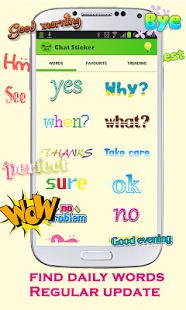 WordArt Chat Sticker KakaoTalk