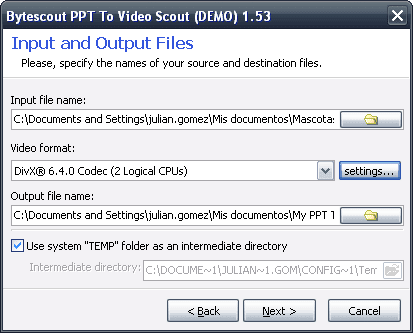 Bytescout PPT To Video Scout