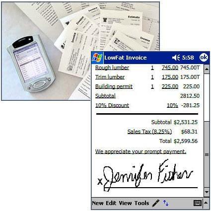 LowFat Invoice