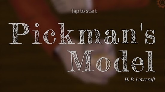 HP Lovecraft: Pickman's Model