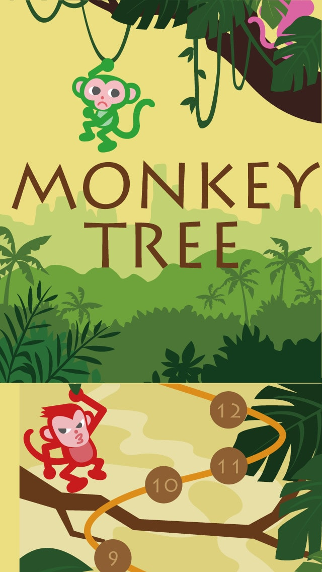 Monkey Tree - Free Puzzle Game