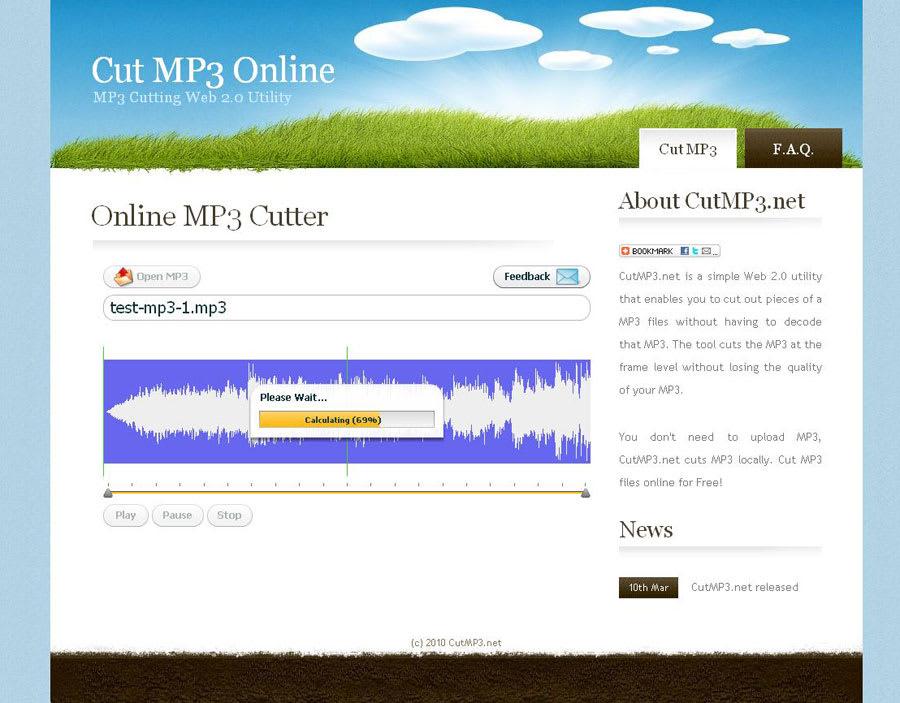 Cut MP3 Online