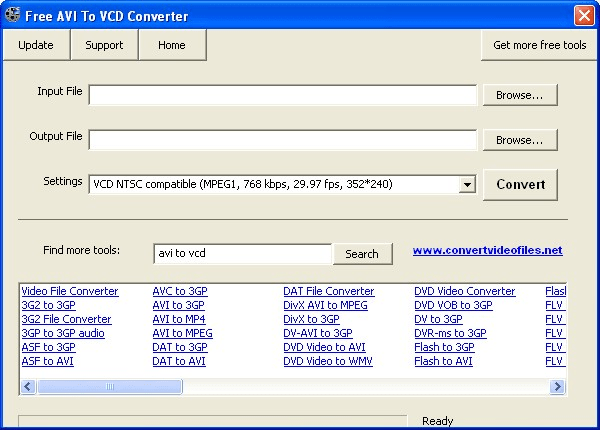 Free AVI to VCD Converter