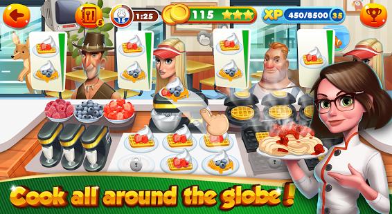 Cooking Games Chef Burger Food Kitchen Restaurant
