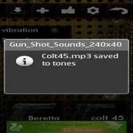 Gunshot Effets sonores