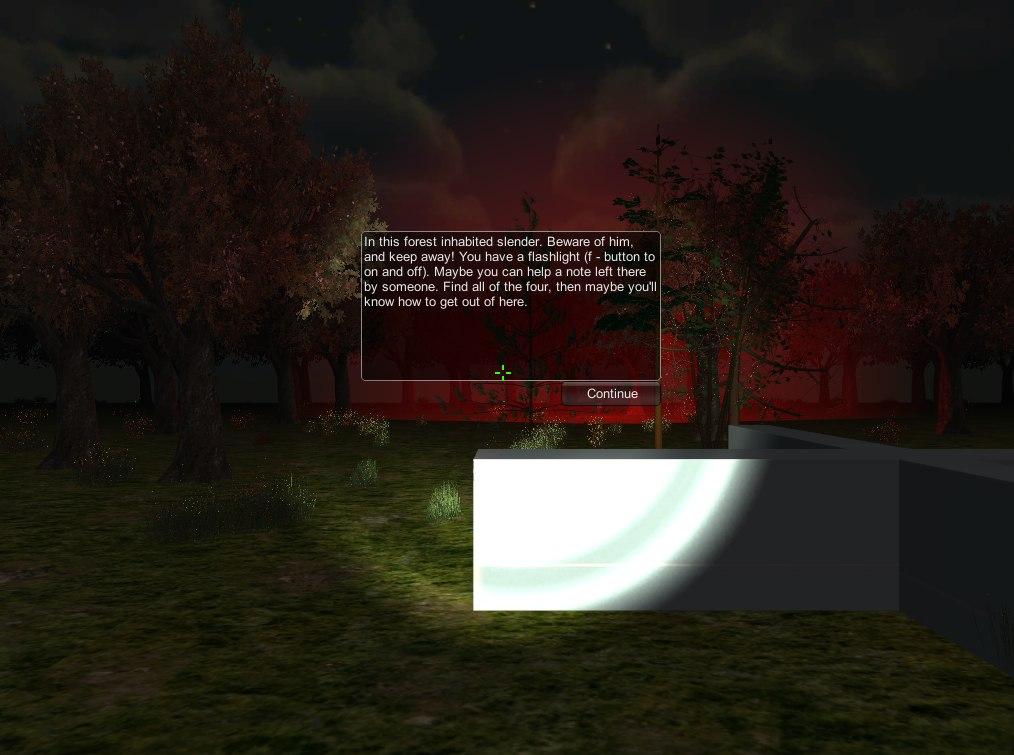 Slender Dark Forest