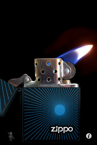 Virtual Zippo Lighter