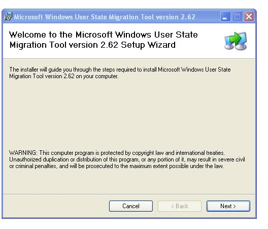 Microsoft Windows User State Migration Toolkit