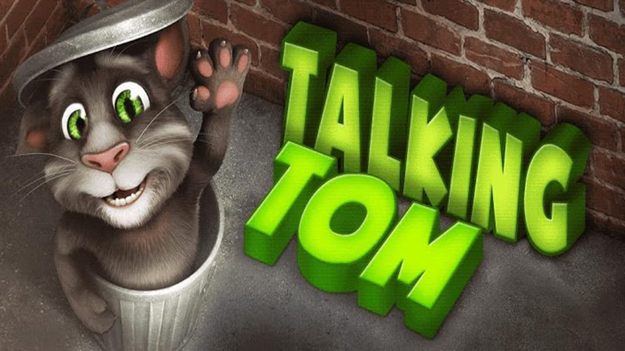 TALKING TOM CAT - cover