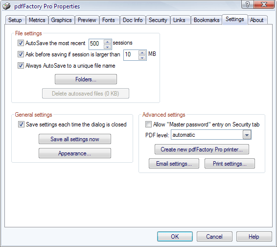 What s Brand New in the pdfFactory Pro 6.20
