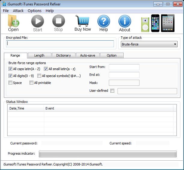 iSumsoft iTunes Password Refixer