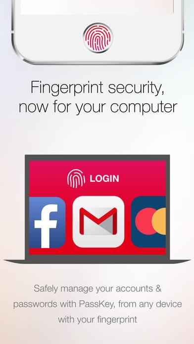 Fingerprint Login: PassKey Password & Apps Lock