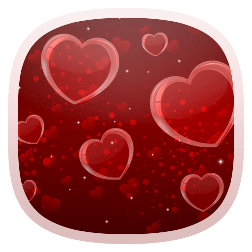 Delicate Hearts Free LWP 1.0.0