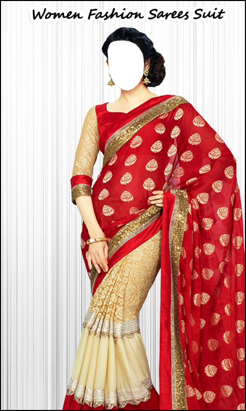 Women Fashion Sarees Suit Free