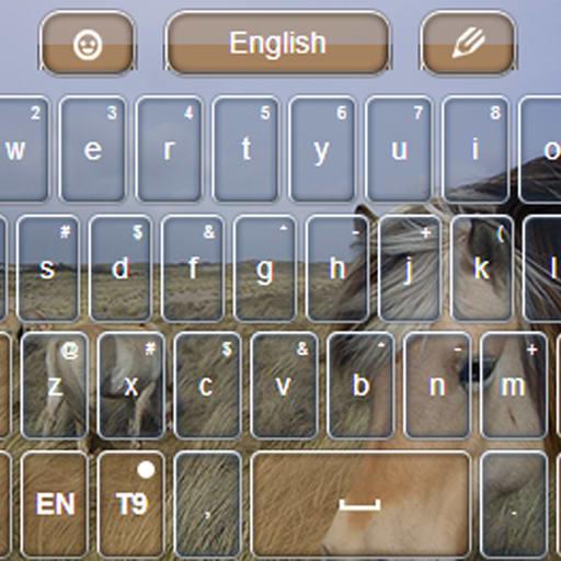 GO Keyboard Horses