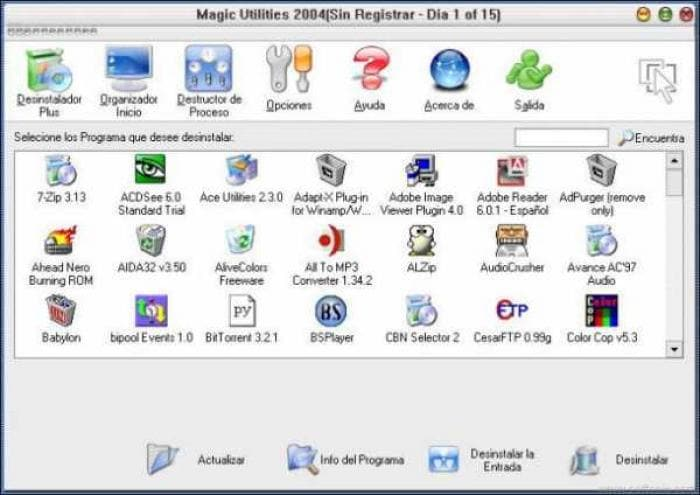 Magic Utilities Spanish Language File