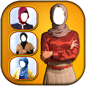 Hijab Woman Photo Montage New