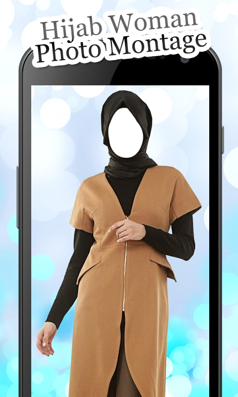 Hijab Woman Photo Montage New