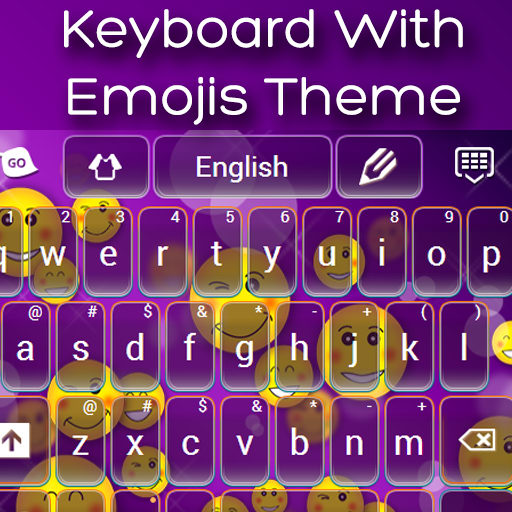Keyboard With Emojis Theme