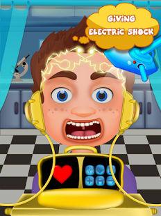 Doctor cerebro-juego de niños